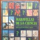 Libros de segunda mano: MARAVILLAS DE LA CIENCIA (SELECCIONES DEL READER'S DIGEST, 1991) /// TECNOLOGÍA / HISTORIA / HOMBRE. Lote 160596262