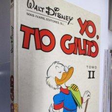 Libros de segunda mano: YO, TIO GILITO TOMO II - WALT DISNEY 1974. PARA COLECCIONISTA.. Lote 160609062