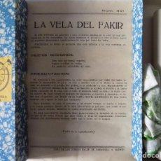 Libros de segunda mano: LIBRERIA GHOTICA. JUEGO DE MAGIA LA VELA DEL FAKIR. 1940.INSTRUCCIONES Y OBJETOS.CASA DE LOS JUEGOS.. Lote 160734054