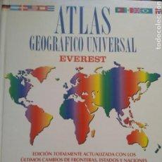 Libros de segunda mano: ATLAS GEOGRÁFICO UNIVERSAL/EVEREST. Lote 160758904