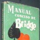 Libros de segunda mano: MANUAL CONCISO DE BRIDGE. CHARLES H. GOREN. ED. SATURNINO CALLEJA, 1947. TRADUCCCION F. CALLEJA. Lote 160799018