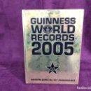 Libros de segunda mano: LIBRO GUINNES DE LOS RECORDS DEL MUNDO, 2005, EDICIÓN ESPECIAL 50 ANIVERSARIO, PLANETA. Lote 160859726