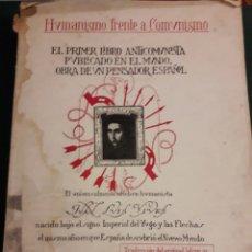 Libros de segunda mano: HUMANISMO FRENTE AL COMUNISMO 1936. Lote 160878528