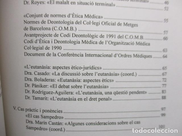 Libros de segunda mano: LA MORT EN LES CIENCIES SOCIALS (MARIA CASADO - GRACIELA SARRIBLE) CATALAN - MUY BUEN ESTADO - Foto 8 - 160892974