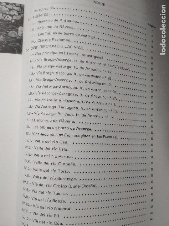 Libros de segunda mano: VIAS ROMANAS DE LA PROVINCIA DE LEON. MANUEL ABILIO RABANAL ALONSO. EDIC LANCIA 1988 - Foto 4 - 160928342
