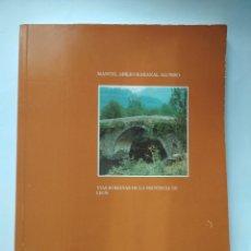 Libros de segunda mano: VIAS ROMANAS DE LA PROVINCIA DE LEON. MANUEL ABILIO RABANAL ALONSO. EDIC LANCIA 1988. Lote 160928342