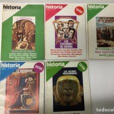 Libros de segunda mano: HISTORIA 16. Lote 160961805