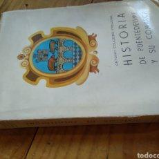 Libros de segunda mano: HISTORIA DE PUENTEDEUME Y SU COMARCA. ANTONIO COUCEIRO FEIJOMIL. Lote 160986429