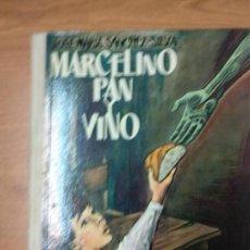 Libros de segunda mano: MARCELINO PAN Y VINO - LAS 3 HISTORIAS - J. M. SANCHEZ SILVA - DONCEL 1966. Lote 236142210