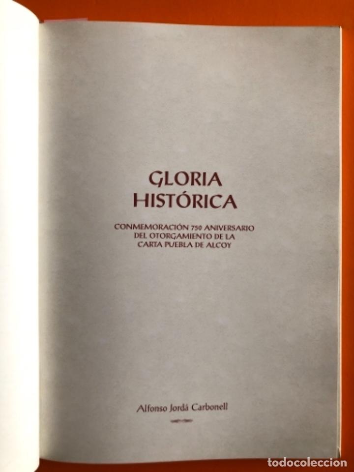 Libros de segunda mano: ALCOY- ALICANTE- GLORIA HISTORICA- ALFONSO JORDA CARBONELL- 2.007 - Foto 2 - 161074666