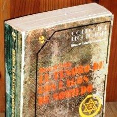 Libros de segunda mano: EL TESORO DE LOS LAGOS DE SOMIEDO POR MARIO ROSO DE LUNA DE ED. SILVERIO CAÑADA EN BILBAO 1980. Lote 161092730