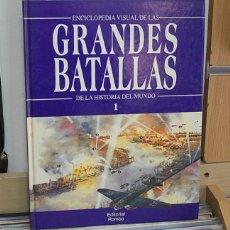 Libros de segunda mano: LMV - ENCICLOPEDIA DE LAS GRANDES BATALLAS DE LA HISTORIA DEL MUNDO, 1. Lote 161219966