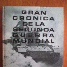 Libros de segunda mano: GRAN CRÓNICA DE LA SEGUNDA GUERRA MUNDIAL. DE MUNICH A PEARL HARBOR. 3 TOMOS. . Lote 161271374