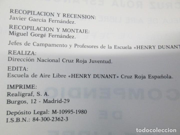 Libros de segunda mano: CRUZ ROJA ESPAÑOLA. ESCUELA DE AIRE LIBRE HENRY DUNANT. COMPENDIO DE AIRE LIBRE. 1980 - Foto 5 - 161275234