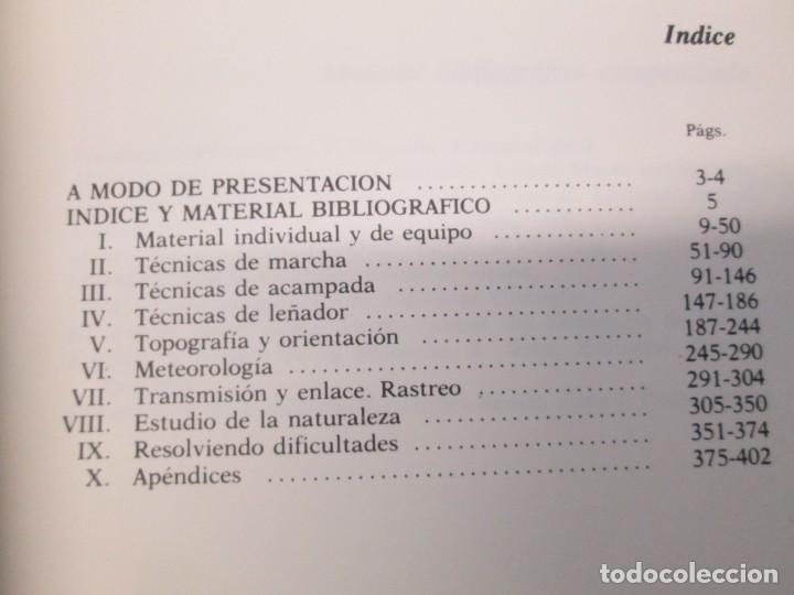 Libros de segunda mano: CRUZ ROJA ESPAÑOLA. ESCUELA DE AIRE LIBRE HENRY DUNANT. COMPENDIO DE AIRE LIBRE. 1980 - Foto 6 - 161275234