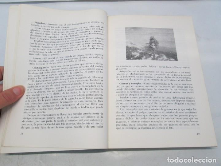 Libros de segunda mano: CRUZ ROJA ESPAÑOLA. ESCUELA DE AIRE LIBRE HENRY DUNANT. COMPENDIO DE AIRE LIBRE. 1980 - Foto 7 - 161275234
