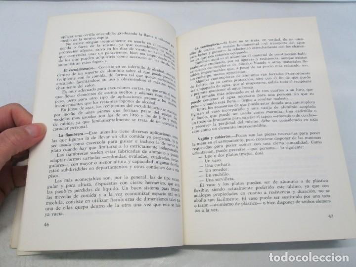 Libros de segunda mano: CRUZ ROJA ESPAÑOLA. ESCUELA DE AIRE LIBRE HENRY DUNANT. COMPENDIO DE AIRE LIBRE. 1980 - Foto 9 - 161275234