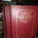 Libros de segunda mano: CLÁSICOS AFANÍAS LA PICARESCA ESPAÑOLA 3 TOMOS. Lote 161279016