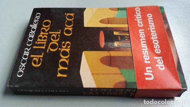 EL LIBRO DEL MAS ACA - OSCAR CABALLERO - FOTOS INDICE (Libros de Segunda Mano - Parapsicología y Esoterismo - Otros)
