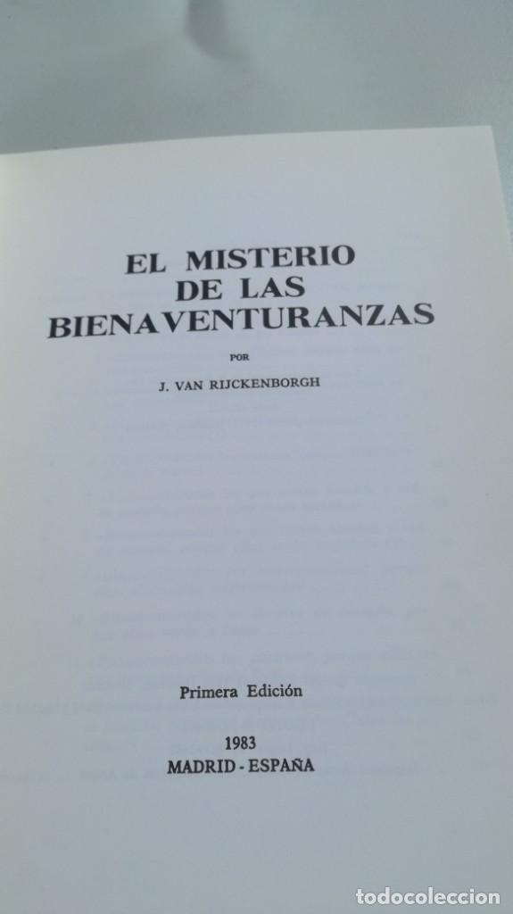 Libros de segunda mano: EL MISTERIO DE LAS BIENAVENTURANZAS - Yver, Colette - 1983 - FOTOS INDICE Y SINOPSIS - Foto 4 - 161293502