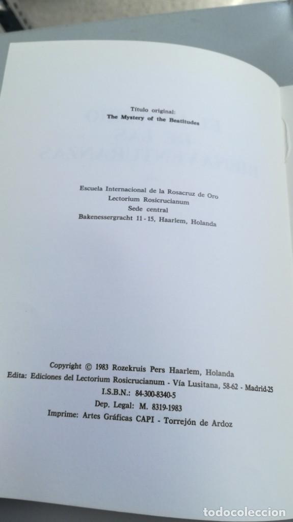 Libros de segunda mano: EL MISTERIO DE LAS BIENAVENTURANZAS - Yver, Colette - 1983 - FOTOS INDICE Y SINOPSIS - Foto 5 - 161293502