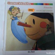 Libros de segunda mano: CUENTOS INFANTILES. PINOCHO. Lote 161472058