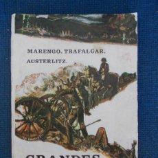 Libros de segunda mano: GRANDES BATALLAS LEON AZNAR EDICIONES GALAOR. Lote 161487454