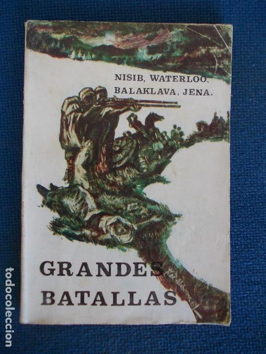 GRANDES BATALLAS EDICIONES GALAOR (Libros de Segunda Mano - Historia - Otros)