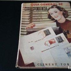 Libros de segunda mano - GUIA GENERAL DE CORRESPONDENCIA,MODELOS DE CARTAS Y DOCUMENTOS DE CARECTER PARTICULAR MERCANTIL Y OF - 161564574
