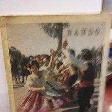 Libros de segunda mano: STQ.FIESTAS DE PRIMAVERA MURCIA 1973 BANDO.BRUMART TU LIBRERIA.. Lote 161623754