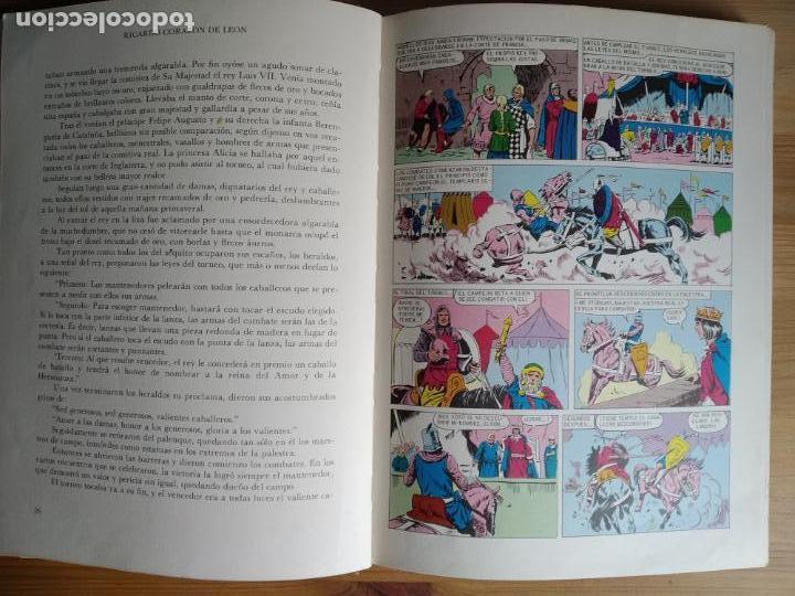 Libros de segunda mano: Ricardo Corazon de Leon. de Joseph Lacier. PRIMERA EDICION en Historias Color . 1975 - Foto 3 - 161625026