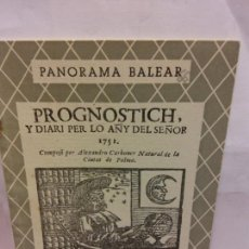 Libros de segunda mano: STQ.CALENDARIOS, PRONOSTICOS Y ALMANAQUES 1751.BRUMART TU LIBRERIA.. Lote 161641598