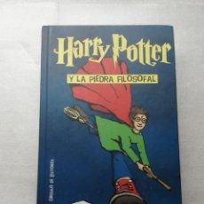 Libros de segunda mano: HARRY POTTER Y LA PIEDRA FILOSOFAL - J. K. ROWLING - CIRCULO- TAPAS DURAS. Lote 161730186