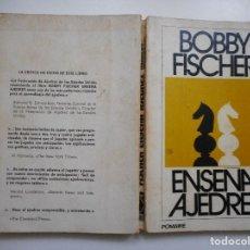 Livros em segunda mão: BOBBY FISCHER ENSEÑA AJEDREZ Y93787 . Lote 161790338