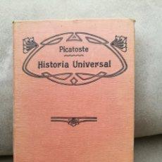 Libros de segunda mano: FELIPE PICATOSTE - COMPENDIO DE LA HISTORIA UNIVERSAL - EDITORIAL VIUDA DE HERNANDO Y CÍA 1890. Lote 161821957