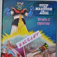 Libros de segunda mano: MAZINGER Z - AFRODITA A CAPTURA - NUMERO 3. Lote 161826826