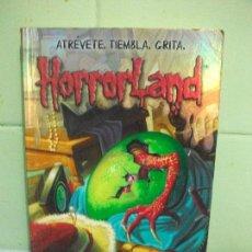 Libros de segunda mano: MIS AMIGOS ME LLAMAN MONSTRUO. HORRORLAND, 7. ATRÉVETE. TIEMBLA. GRITA - R.L. STINE PEPETO. Lote 161837838