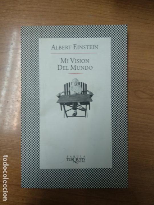 MI VISIÓN DEL MUNDO - EINSTEIN, ALBERT (Libros de Segunda Mano - Ciencias, Manuales y Oficios - Otros)