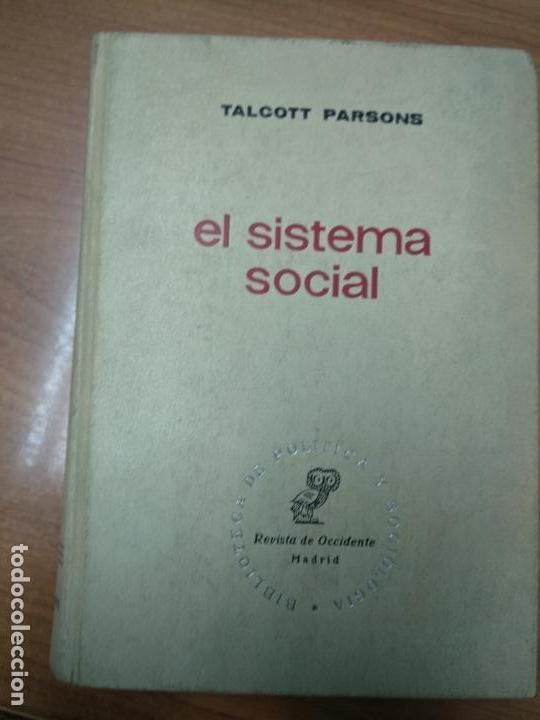 EL SISTEMA SOCIAL - TALCOTT PARSONS (Libros de Segunda Mano - Pensamiento - Otros)