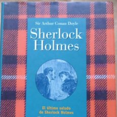 Libros de segunda mano: 3 HISTORIAS DE SHERLOCK HOLMES SIR ARTHUR CONAN DOYLE LOTE Nº34. Lote 161960702