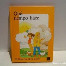 Libros de segunda mano: QUÉ TIEMPO HACE - SEYMOUR - METEOROLOGÍA PARA NIÑOS - MÓVILES , SOLAPAS , POP UP - PLAZA JOVEN 1987. Lote 161963590