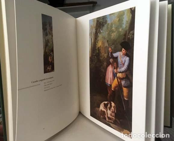 Libros de segunda mano: Goya y la caza. (Julián Gállego / Pérez Sánchez). tirada limitada y numerada - Foto 3 - 161964798
