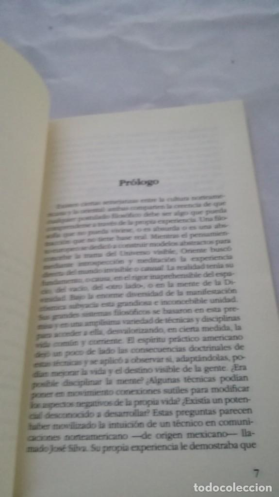 Libros de segunda mano: CONTROL MENTAL - INTRODUCCIÓN AL MÉTODO SILVA - AÑO CERO - Foto 3 - 162061714