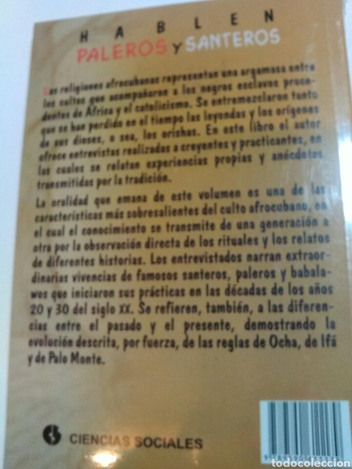 Libros de segunda mano: HABLEN PALEROS Y SANTEROS. - Foto 2 - 162078408