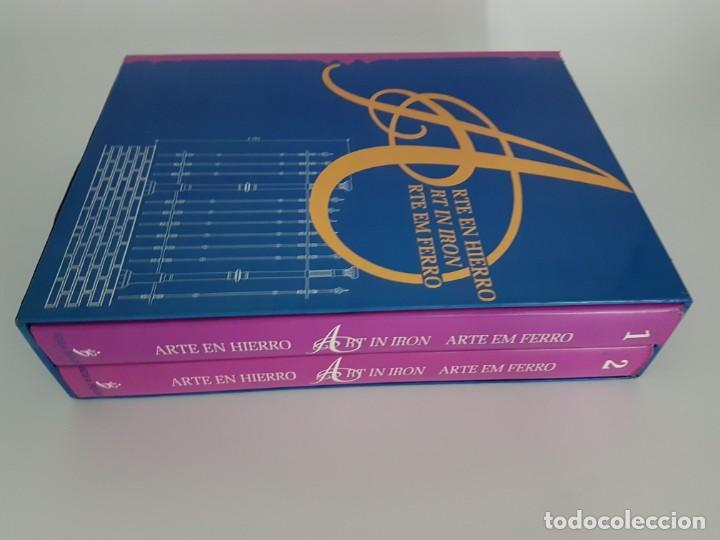 Libros de segunda mano: LOTE DE 2 TOMOS ARTE EN HIERRO ( EN 3 IDIOMAS ) - Foto 12 - 162208174