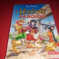 Libros de segunda mano - Tea Stilton nº 27 El Tesoro Perdido Editorial Destino - 162380958