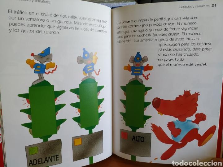 Libros de segunda mano: Tres libros infantiles Colección Lobo Rojo - Educación Vial, Lavarse es divertido y Comer bien - Foto 2 - 162459148