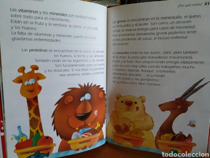 Libros de segunda mano: Tres libros infantiles Colección Lobo Rojo - Educación Vial, Lavarse es divertido y Comer bien - Foto 3 - 162459148