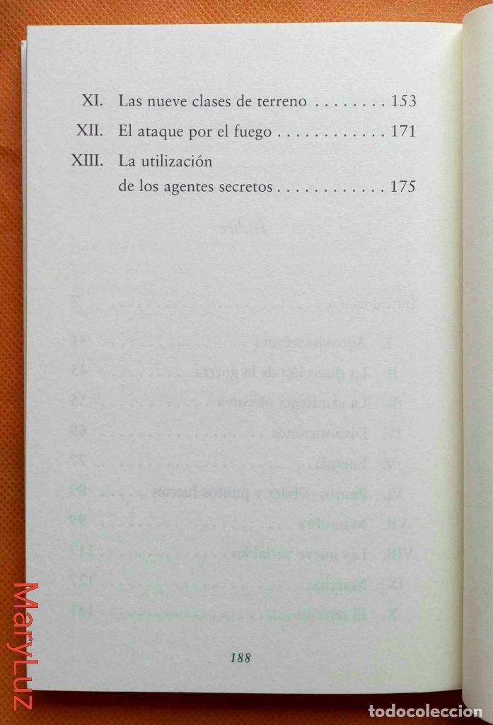 Libros de segunda mano: EL ARTE DE LA GUERRA -Sun Tzu- Ed. de José Ramón Ayllón. - Foto 3 - 162459362