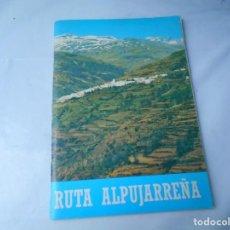 Libros de segunda mano: LIBRO DE RUTA ALPUJARREÑA . Lote 162496938